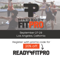 MINDBODY FitPro Conference in Los Angeles