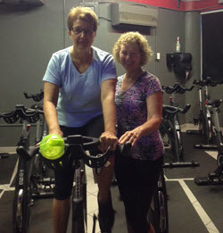 Parkinson's Cycling Master Coach Kathy Helmuth